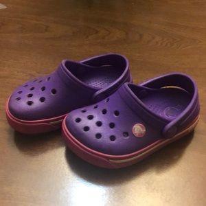 Toddler Girls CROCS Size 4/5